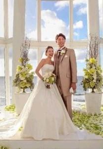 スザンヌ結婚