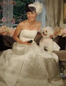 安田美沙子結婚式画像③