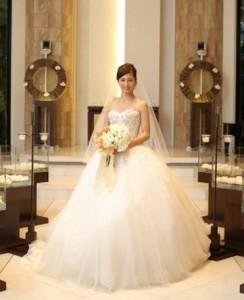 安田美沙子結婚式画像②