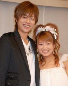 辻希美&杉浦太陽結婚画像