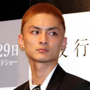 高良健吾髪型①